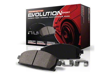 Power Stop Z23 Evolution Sport Ceramic Brake Pads - Front Pair (84-86 SVO; 87-93 5.0L)