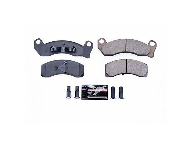 Power Stop Z23 Evolution Sport Ceramic Brake Pads - Front Pair (84-86 SVO; 87-93 5.0L)
