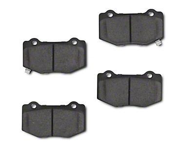 Power Stop Z23 Evolution Sport Ceramic Brake Pads - Rear Pair (15-18 GT350)