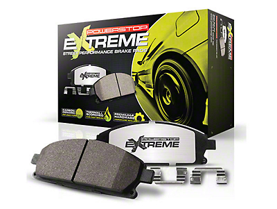 Power Stop Z26 Extreme Street Carbon-Ceramic Brake Pads - Front Pair (15-18 GT w/ Performance Pack)
