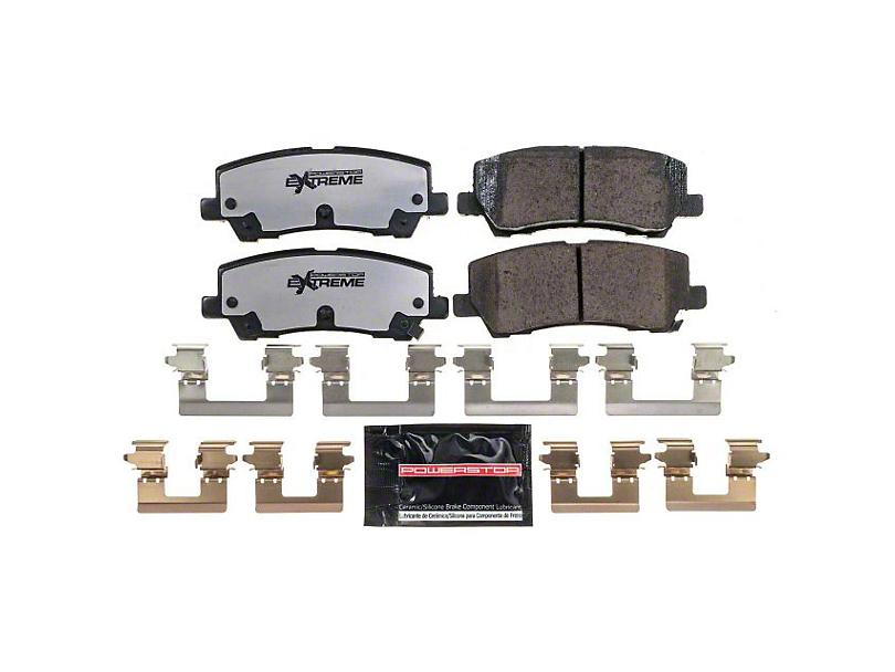 Power Stop Z26 Extreme Street Carbon-Ceramic Brake Pads - Rear Pair (15-18 GT, EcoBoost, V6)