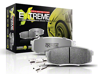Power Stop Z26 Extreme Street Carbon-Ceramic Brake Pads - Rear Pair (15-19 GT350)
