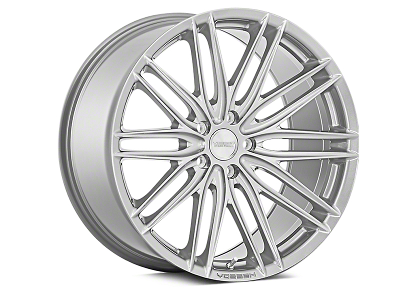 Vossen VFS-4 Silver Metallic Wheel; Rear Only; 20x10.5 (10-14 All)