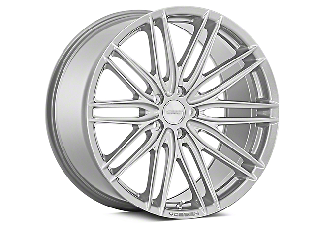 Vossen VFS-4 Silver Metallic Wheel; 20x9 (10-14 All)