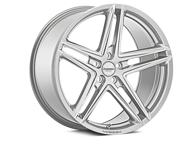 Vossen VFS-5 Silver Metallic Wheel; Rear Only; 20x10.5 (05-09 All)