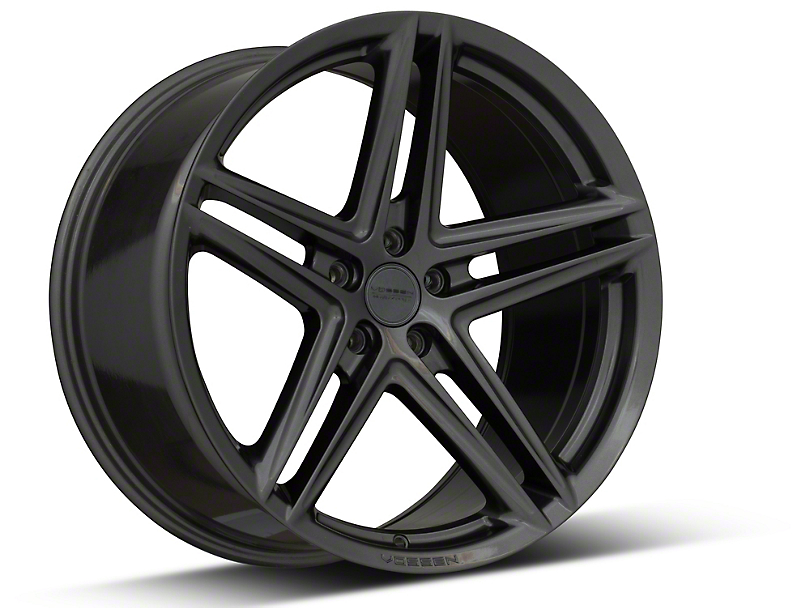 Vossen VFS-5 Gloss Graphite Wheel; Rear Only; 20x10.5 (05-09 All)