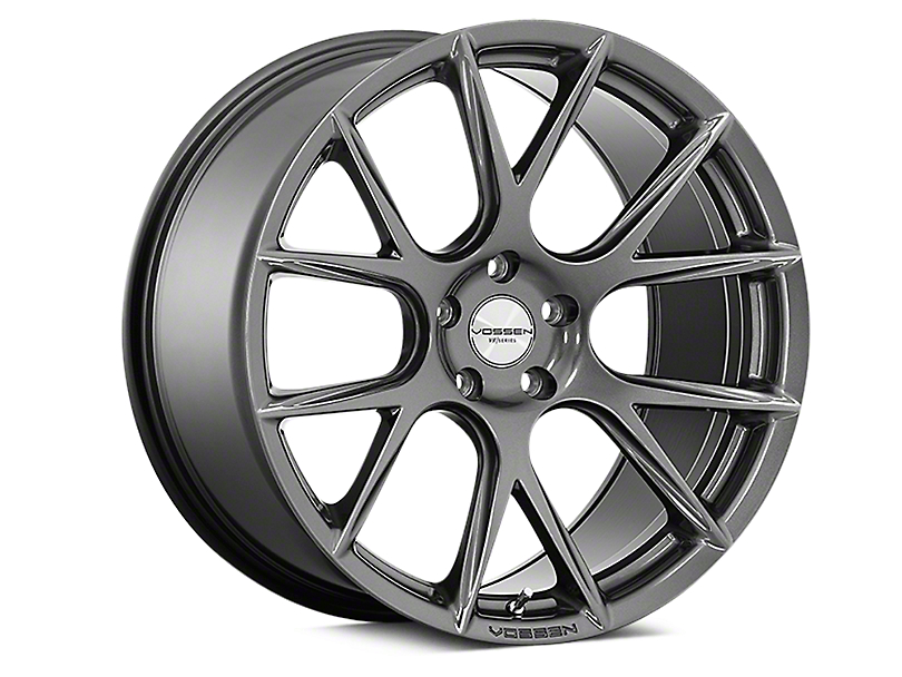 Vossen VFS-6 Gloss Graphite Wheel - 20x10.5 - Rear Only (15-19 All)