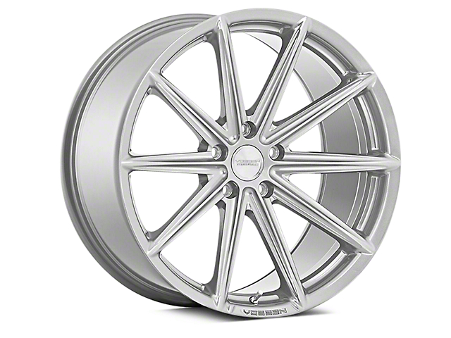 Vossen VFS-10 Silver Metallic Wheel; Rear Only; 20x10.5 (05-09 All)