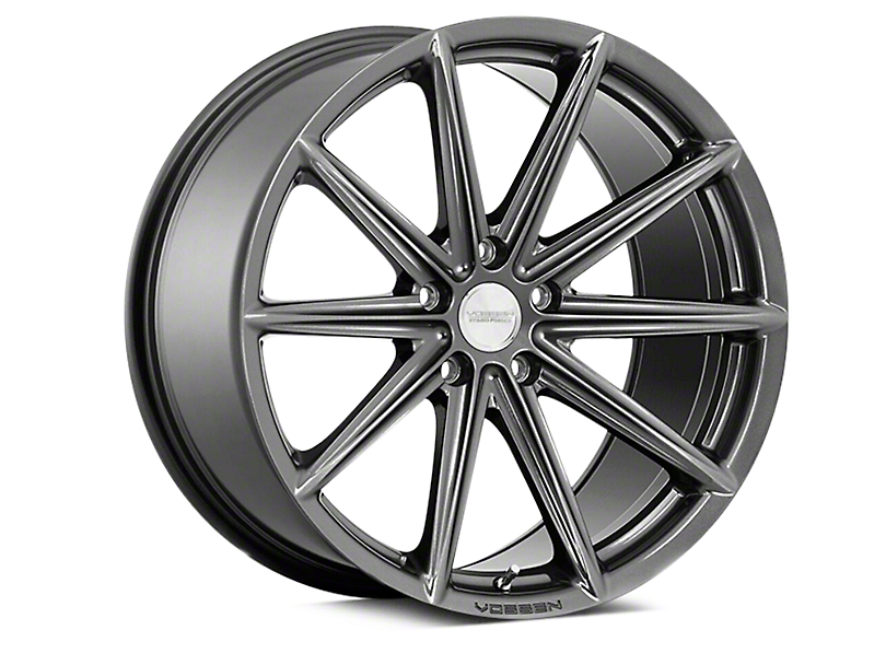 Vossen VFS-10 Gloss Graphite Wheel - 20x10.5 - Rear Only (05-09 All)