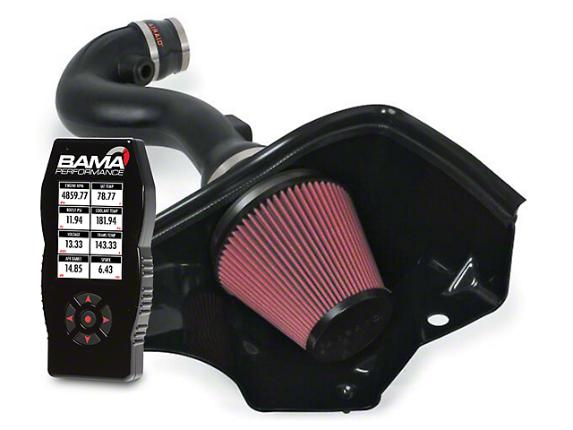 Airaid MXP Series Cold Air Intake and BAMA X4/SF4 Power Flash Tuner (05-09 V6)