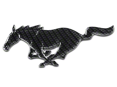 Running Pony Grille Emblem - Hydrocarbon (94-04 All)