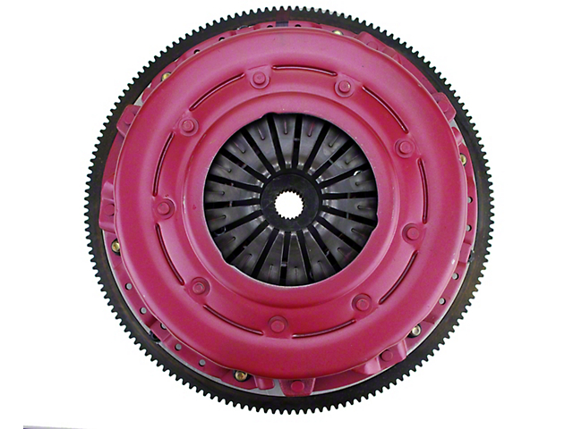 RAM Force Dual Disc 10.5 Clutch w/ 8 Bolt Aluminum Flywheel - 23 Spline (15-17 GT)