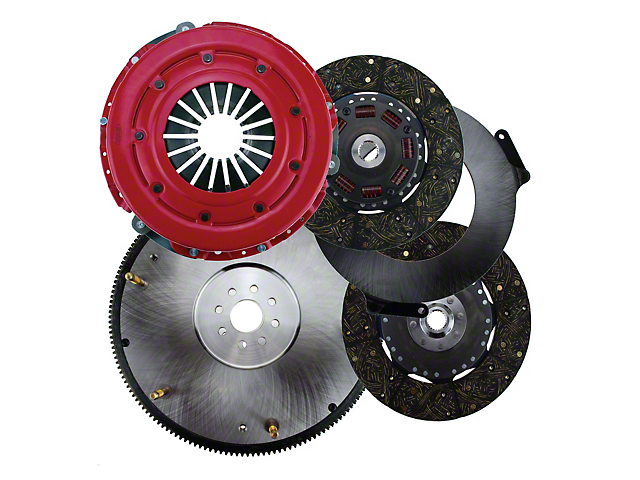 RAM Force Dual Disc 10.5 Clutch w/ 8 Bolt Steel Flywheel - 23 Spline (11-14 GT)