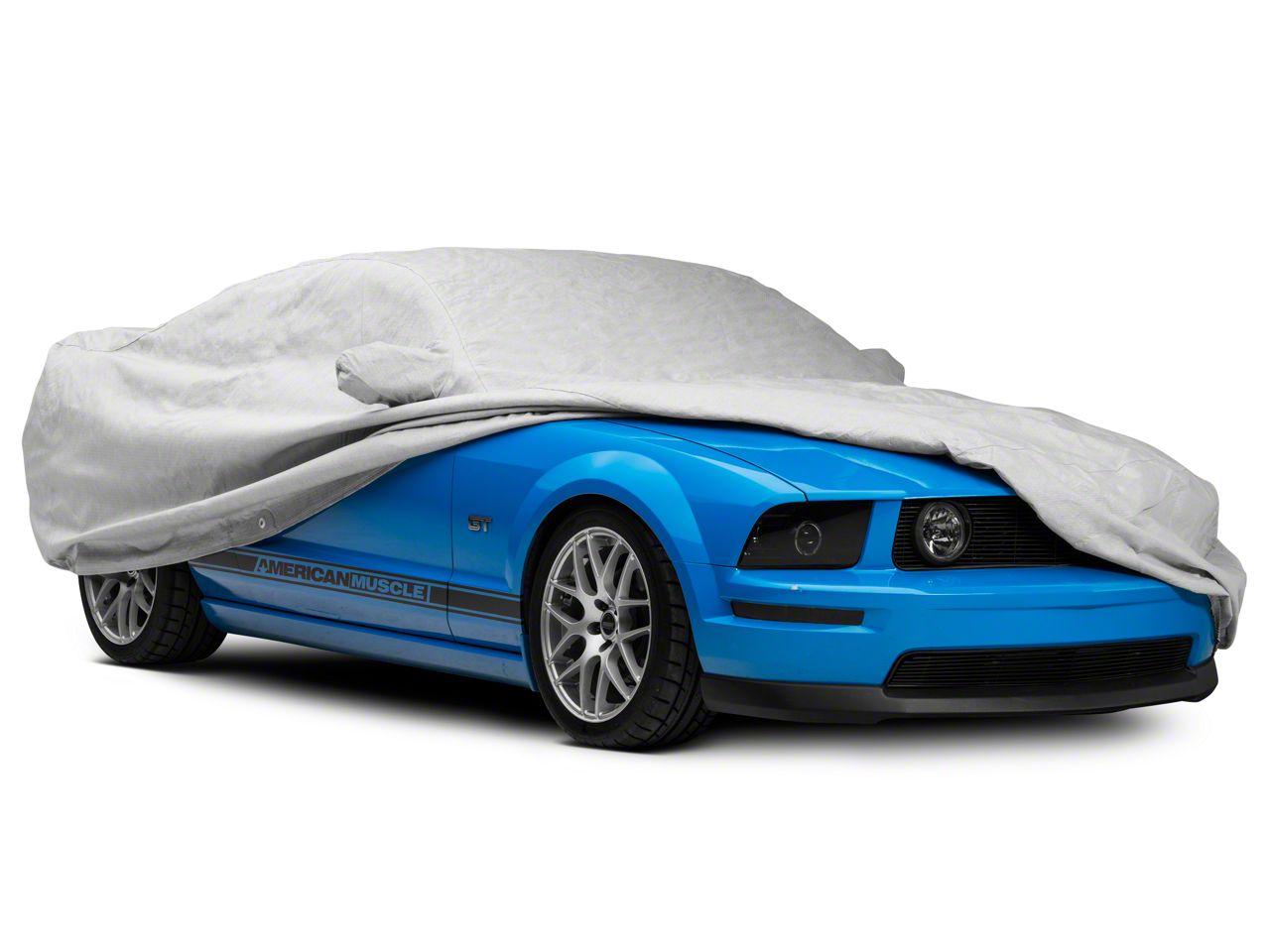 Gray Noah Fabric Covercraft Custom Fit Car Cover for Ford Sedan