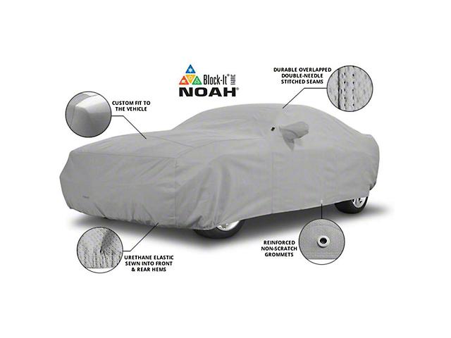 Covercraft Custom Noah Car Cover; Gray (15-20 Convertible)