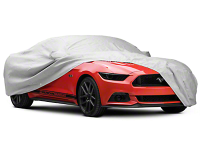 Covercraft Premium Noah Custom-Fit Car Cover - Gray (15-18 Fastback)