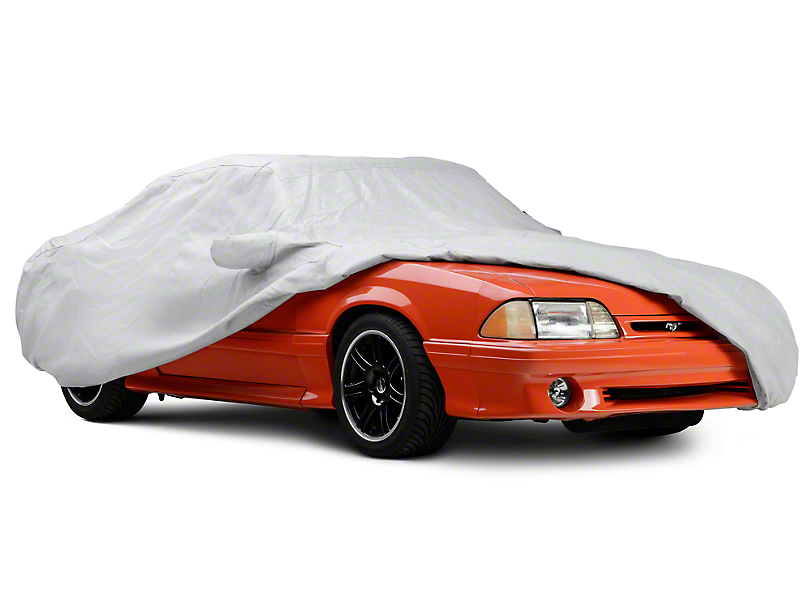 Covercraft Premium Noah Custom-Fit Car Cover - Gray (87-93 Convertible)