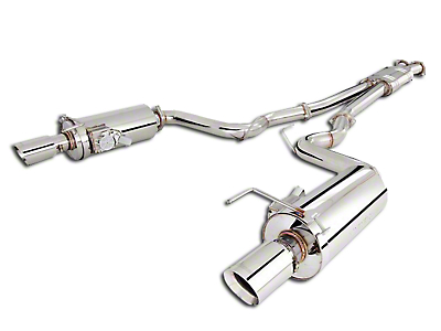 X-Force Twin Stainless Steel Cat-Back Exhaust (05-10 GT)