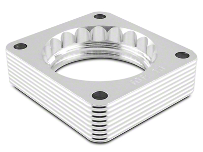 AFE Silver Bullet Throttle Body Spacer (05-10 V6)