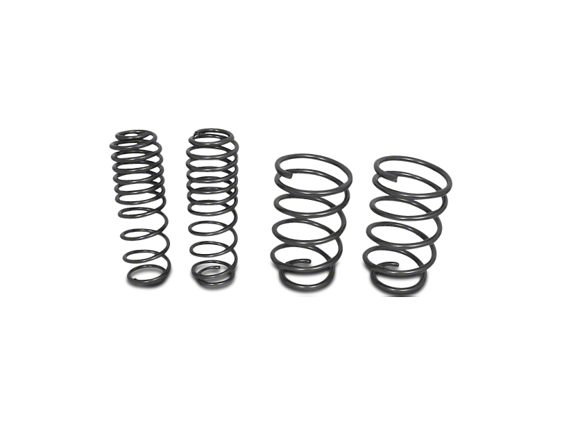 BBK Progressive Rate Lowering Springs (05-14 GT, V6)