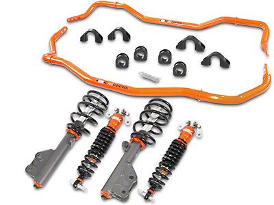 AFE Control Series Stage 2 Suspension Package (15-17 GT, EcoBoost, V6)