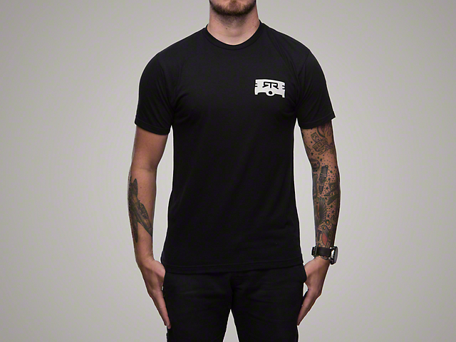RTR Black Piston T-Shirt