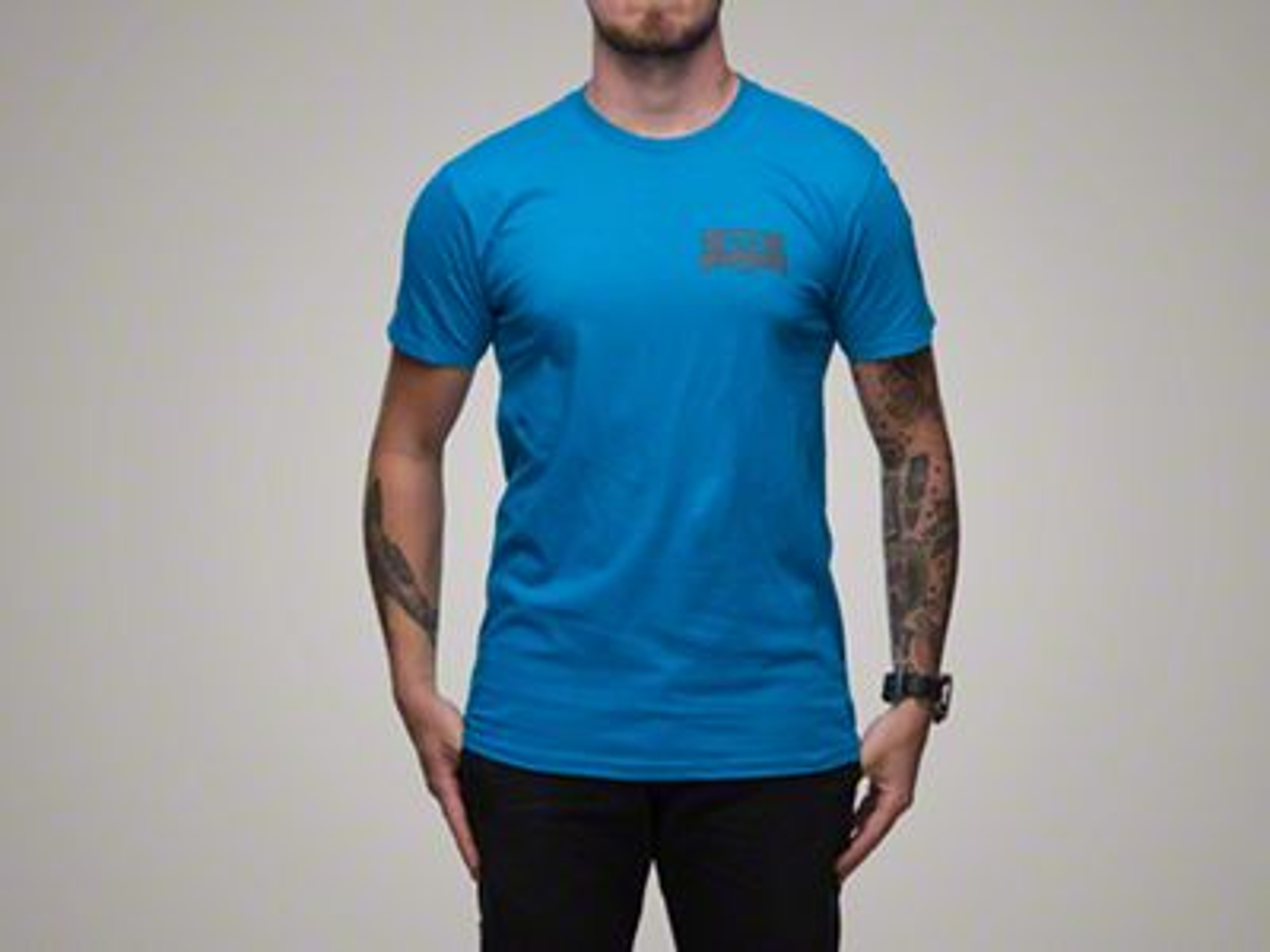 RTR Blue Piston T-Shirt - L