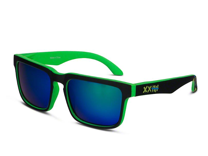 RTR VGRJ Signature Sunglasses - Green/Black/Green