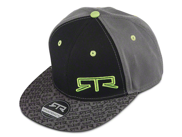RTR Snap Back Hat; Gray and Green