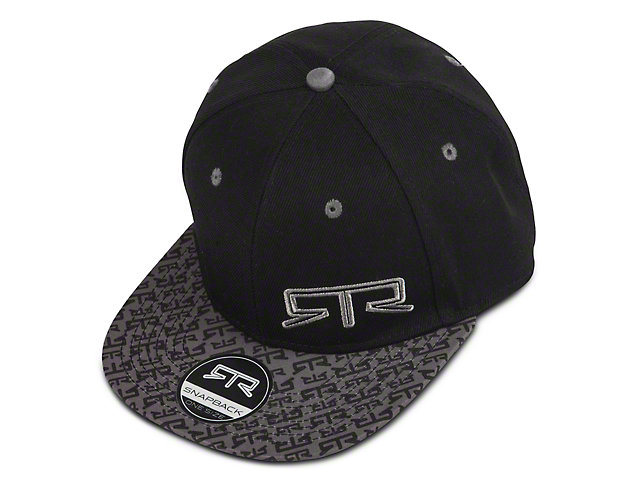 RTR Snap Back Hat - Gray & Black
