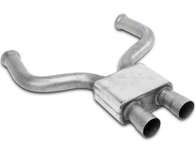 MAC Pro Chamber Mid-Pipe for Off-Road Cat Delete Pipes (11-14 GT)