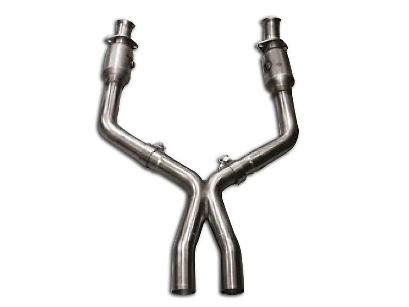 Kooks 3 in. x 2.5 in. Catted X-Pipe (05-10 GT w/ Long Tube Headers)
