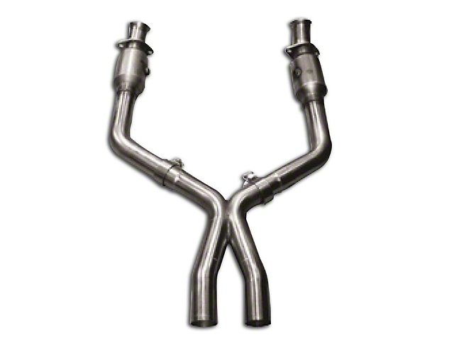 Kooks 3 in. x 2.5 in. Catted X-Pipe (05-10 GT w/ Long Tube Headers)