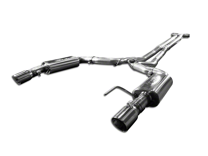 Kooks 3 in. Cat-Back Exhaust w/ X-Pipe - Polished Tips (15-17 GT Convertible w/ Long Tube Headers)