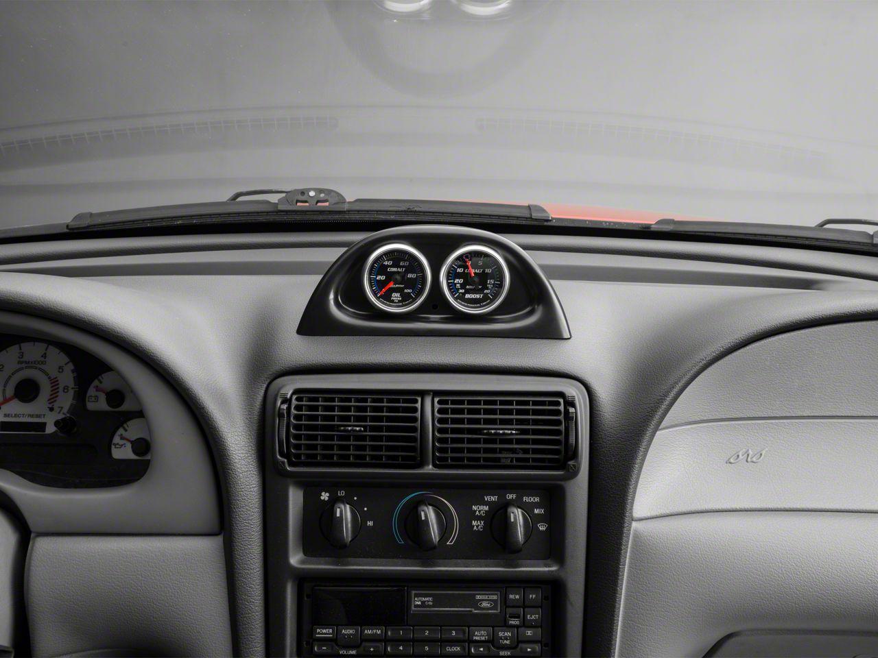 Auto Meter Dash Top Gauge Pod - Dual 2-1/16 in. (94-04 All)