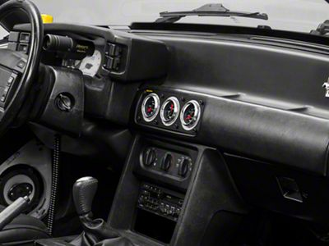 Auto Meter 50101 Black Dual Gauge Cage