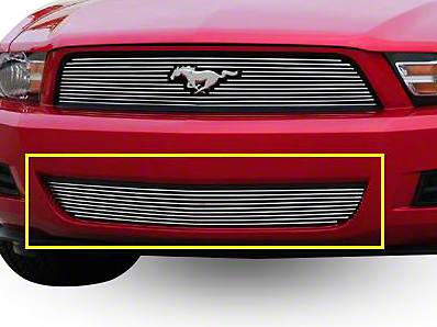 T-REX Polished Billet Lower Grille (10-12 V6)