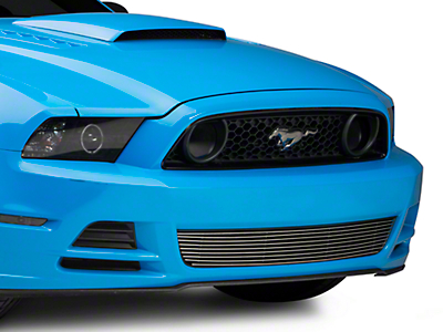 T-REX Polished Billet Lower Grille (13-14 GT)