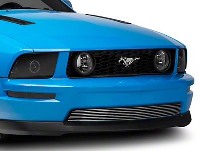 T-REX Polished Billet Lower Grille (05-09 GT)
