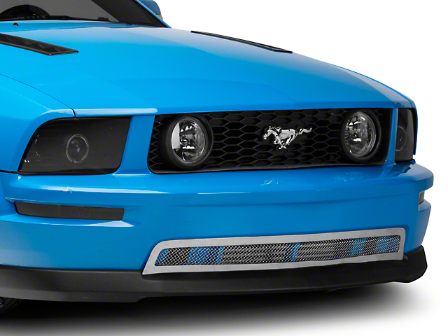 T-REX Upper Class Mesh Lower Grille - Polished (05-09 GT)