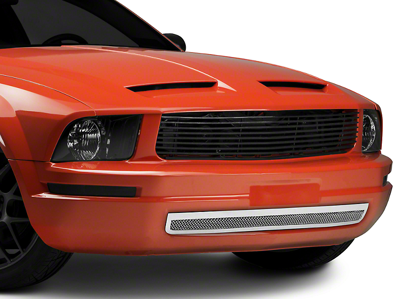 T-REX Upper Class Mesh Lower Grille - Polished (05-09 V6)