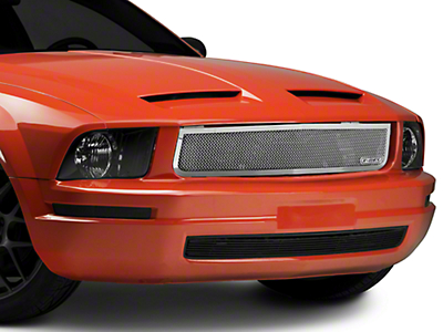 T-REX Upper Class Mesh Upper Grille - Polished (05-09 V6)