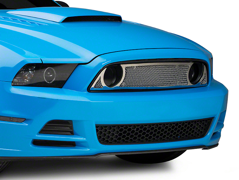 T-REX Polished Upper Class Series Upper Grille Overlay (13-14 GT)
