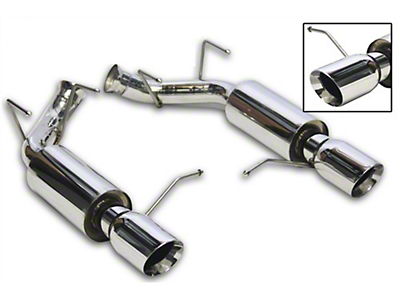 Nxt Step Performance Axle-Back Exhaust (11-14 GT)