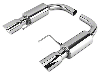Axle-Back Exhaust (15-19 EcoBoost w/o Active Exhaust)