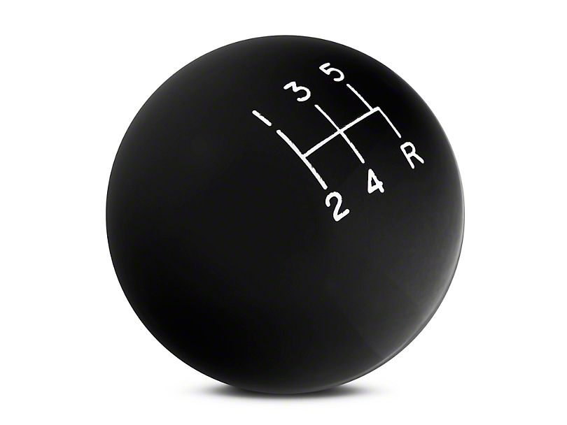 Hurst Classic 5-Speed Shift Knob - Black (79-04 All, Excluding 03-04 Cobra)