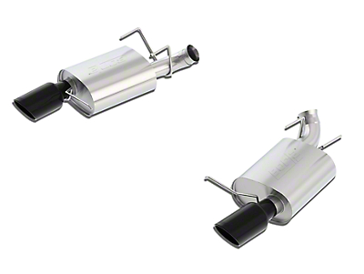 Borla Stinger S-Type Axle-Back Exhaust w/ Black Chrome Tips (13-14 GT; 2013 BOSS 302)
