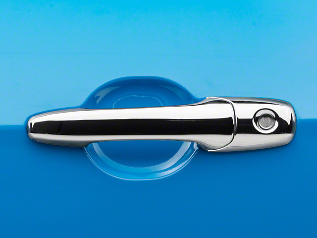 Putco Chrome Door Handle Covers w/o Passenger Keyhole (05-14 All)