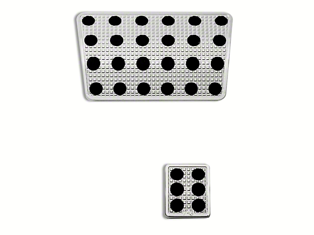 Putco Liquid Pedal Covers - Track Design (06-08 w/ Automatic Transmission)
