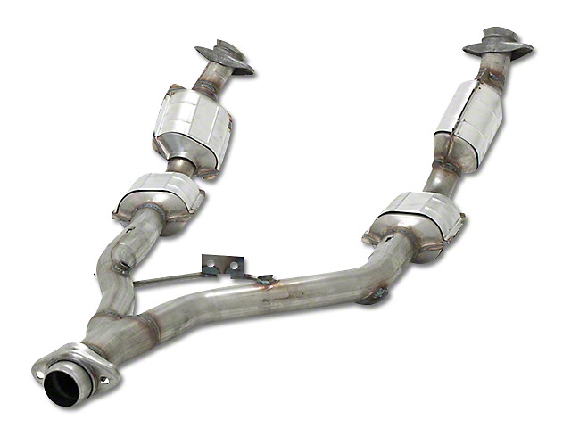 Flowmaster Direct Fit Catted Y-Pipe - 49 State Legal (96-98 V6)